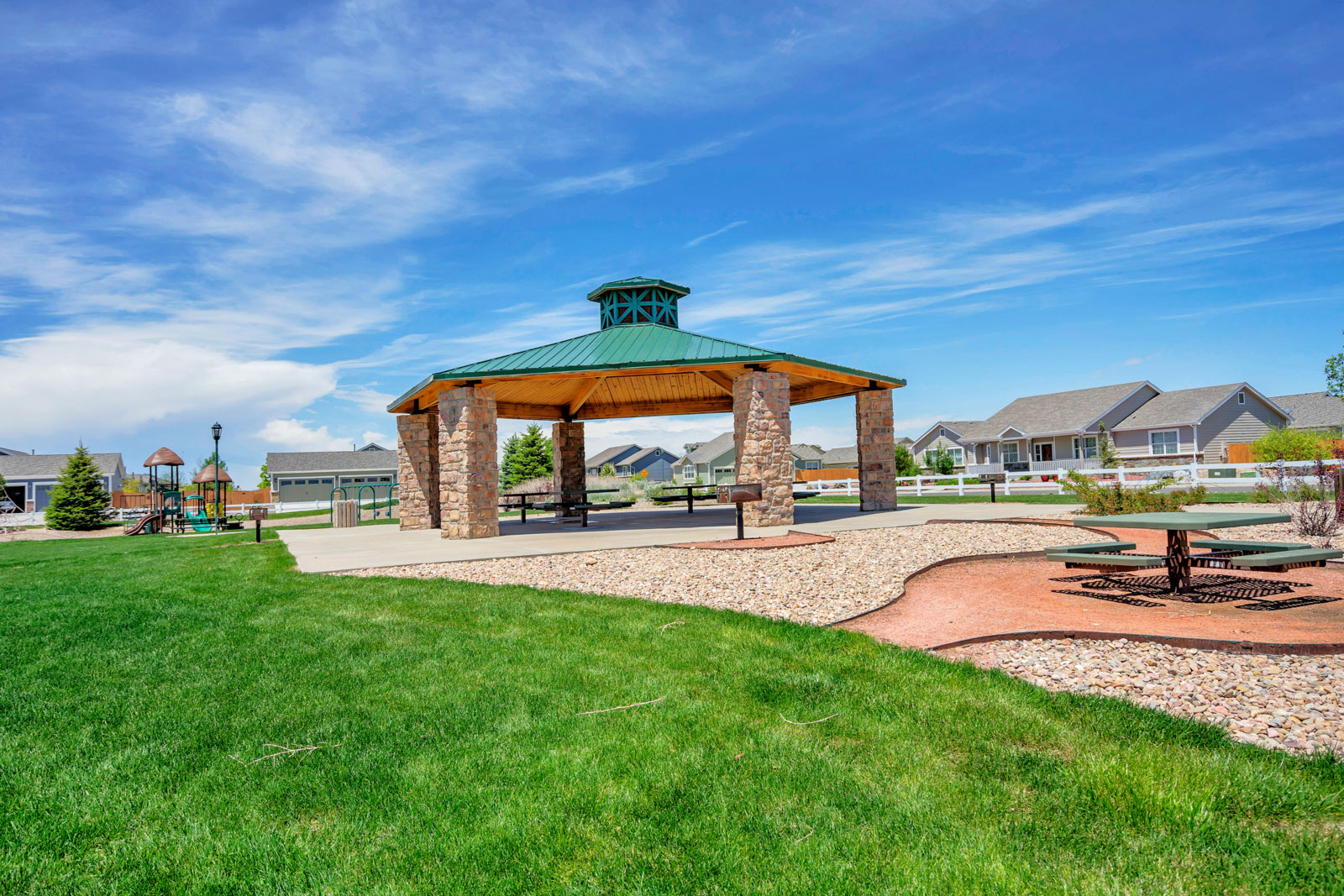 Gazebo Community Park Amenity