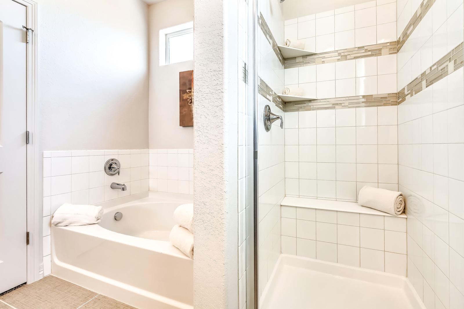 Bath with premium finishes